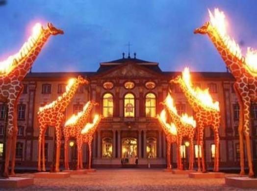 Ausstellung Salvador Dalí Schloss Bruchsal