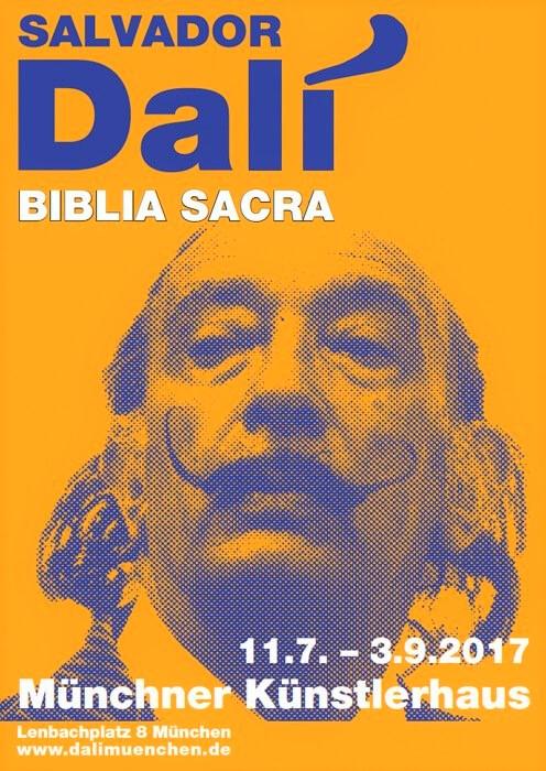 Ausstellung Münchner Künstlerhaus, Dalí, Biblia Sacra