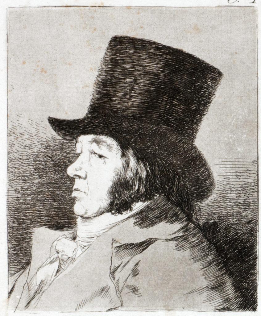 """Francisco de Goya """"Los Caprichos Francisco Goya y Lucientes Maler"""" Aquatinta-Radierung, 1799"""
