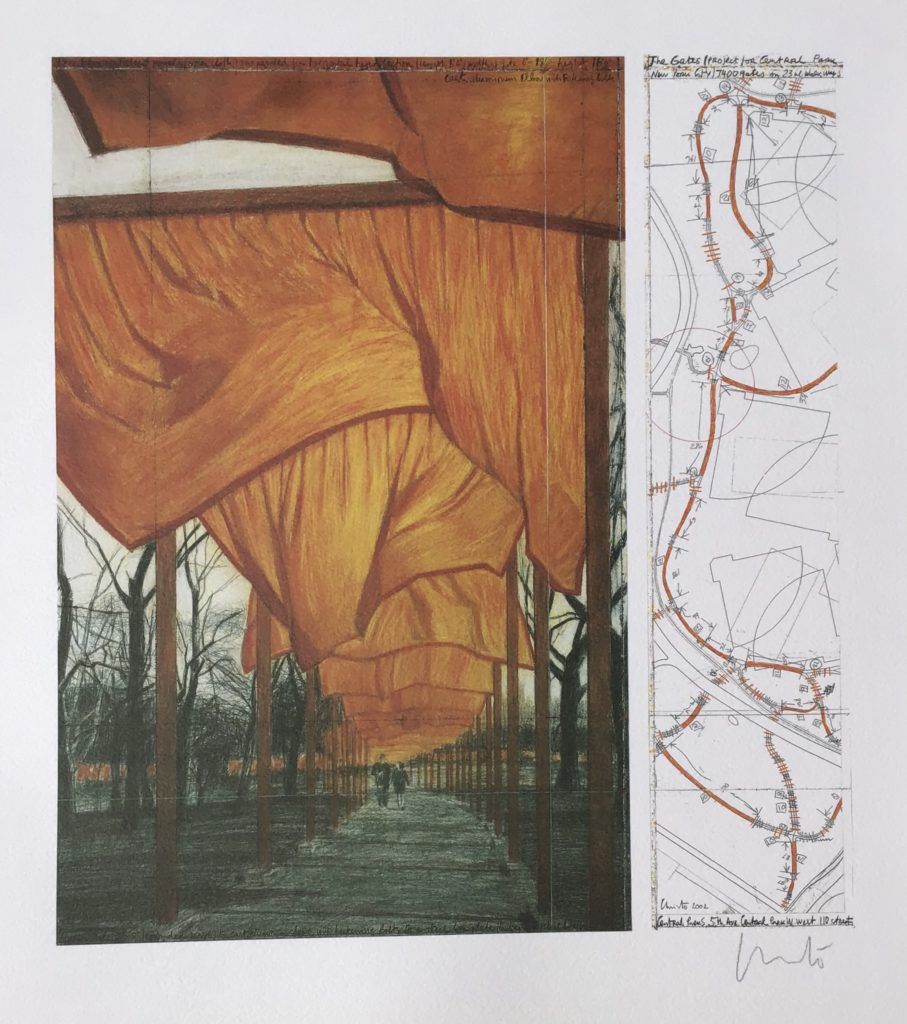 The Gates-Project for Central Park, New York City, USA 1979-2005
