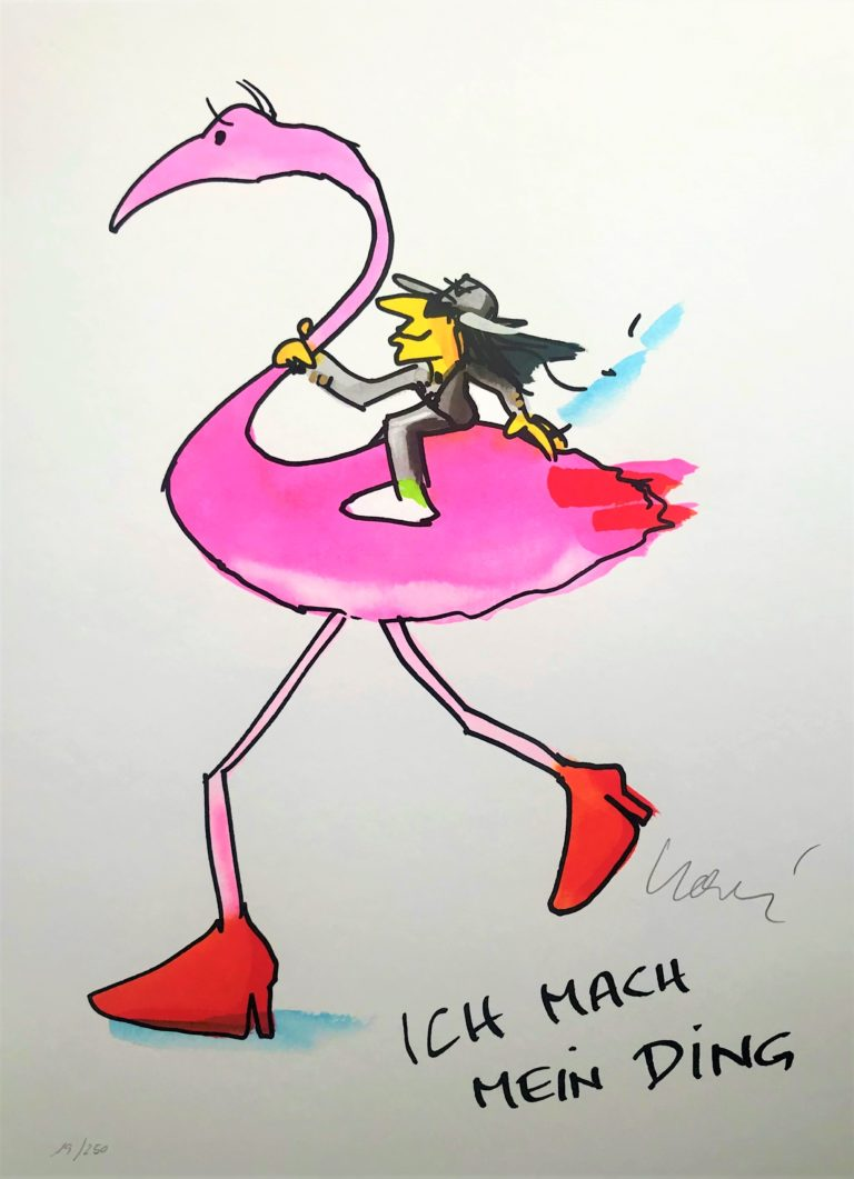Ich mach mein Ding -Flamingo-