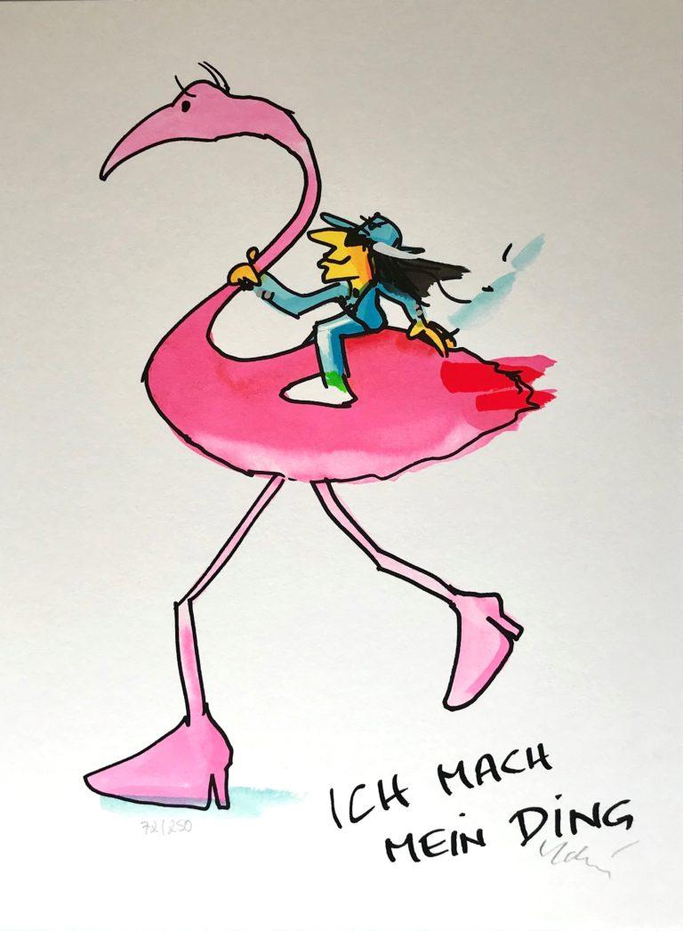 Ich mach mein Ding-Flamingo-
