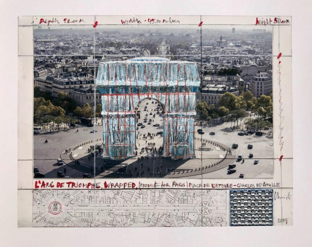L'Arc de Triomphe (Project for Paris)