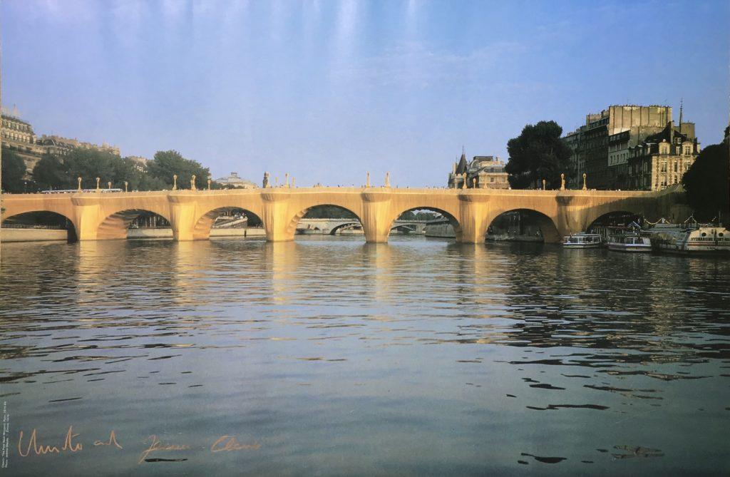 The Pont Neuf Wrapped  Paris, Frankreich 1975-1985