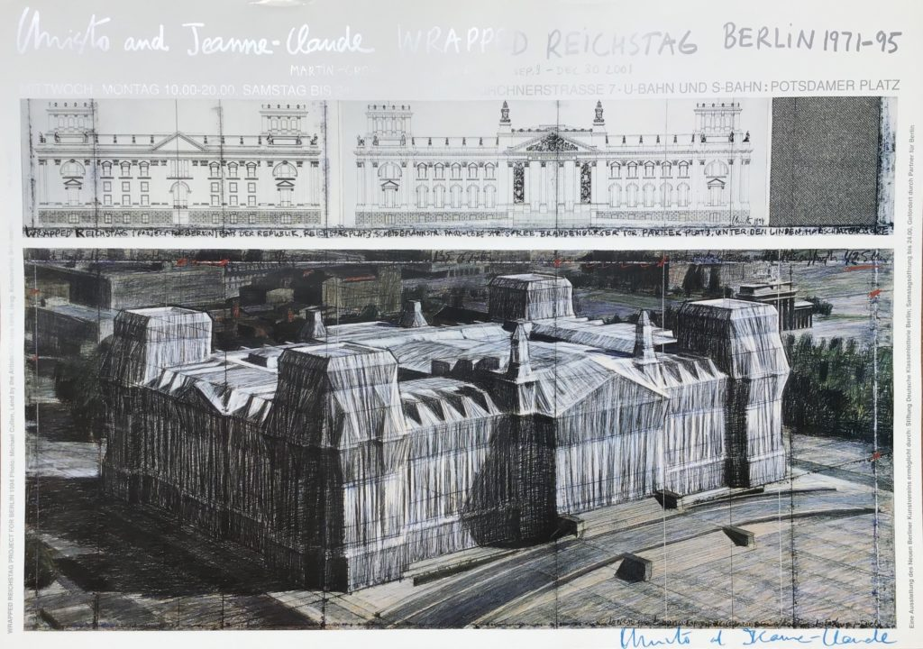 Wrapped Reichstag  Project For Berlin 1971-1995, Martin Gropius Bau Berlin