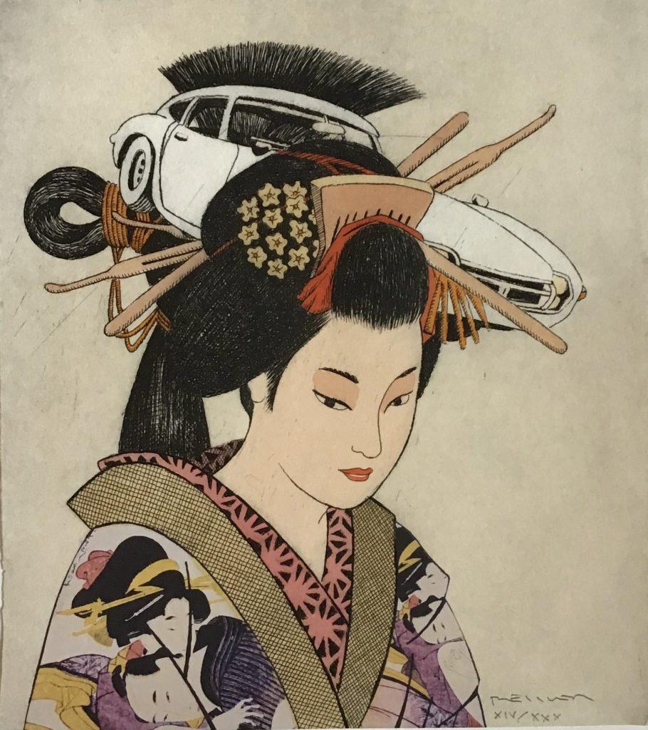 Hommage à Utamaro (Utamaro)