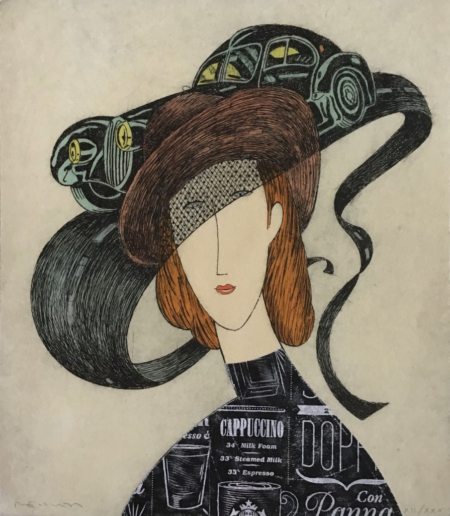 Atlantic Hommage à Modigliani