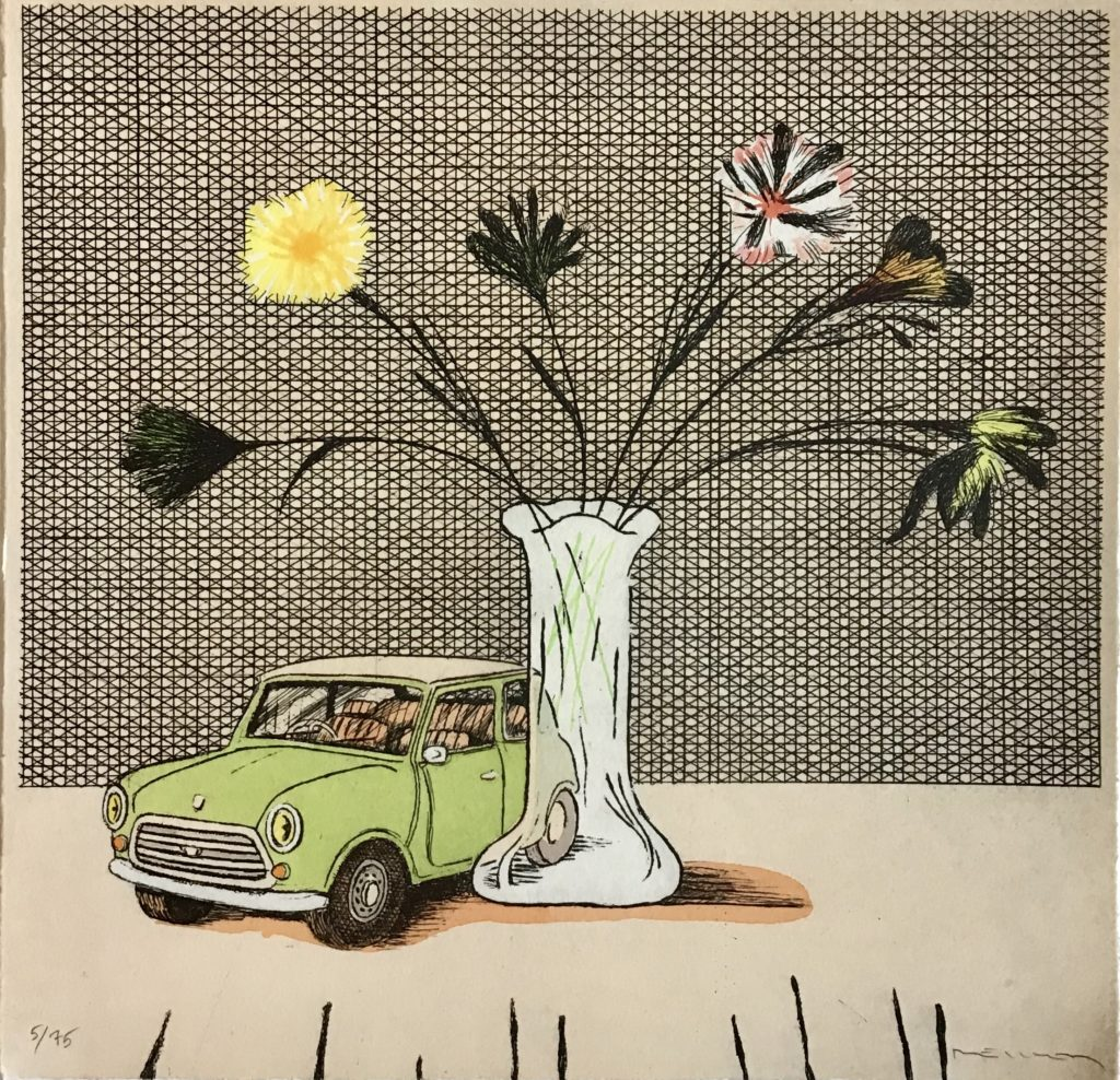 Hommage à Hockney