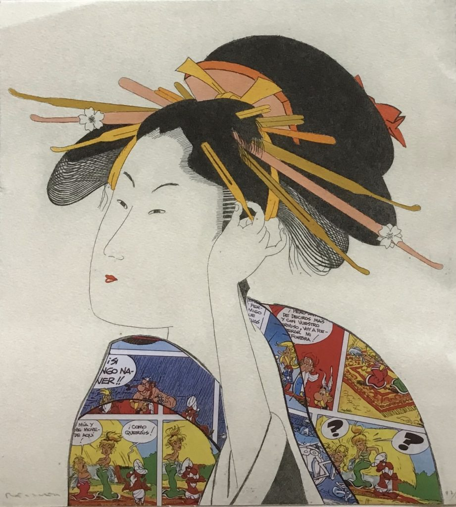 Japanerin: Asterix