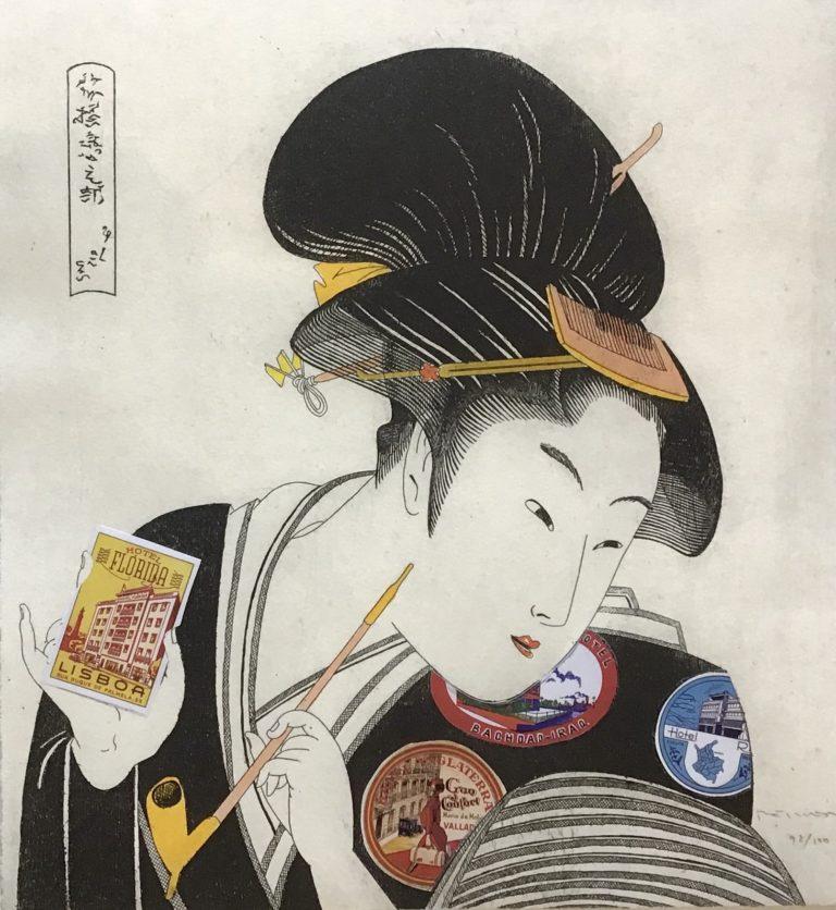 Japanerin: Etiquetas viaje I