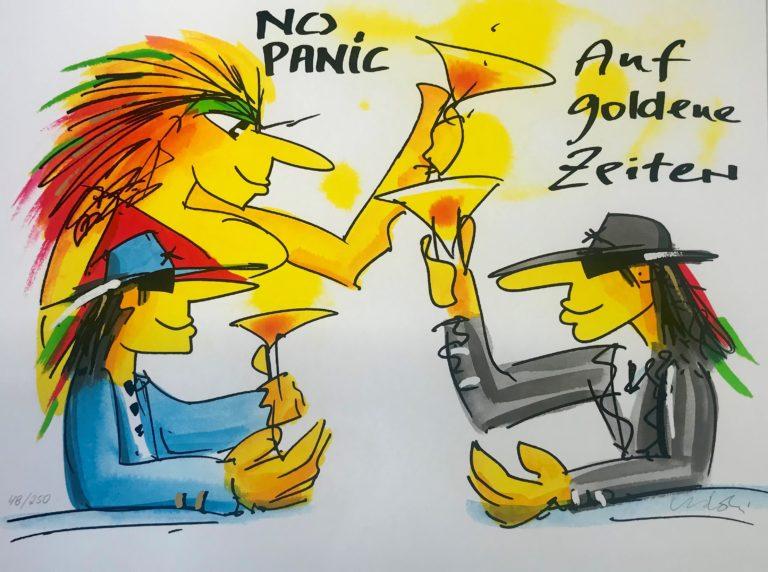 No Panic - Auf goldene Zeiten!