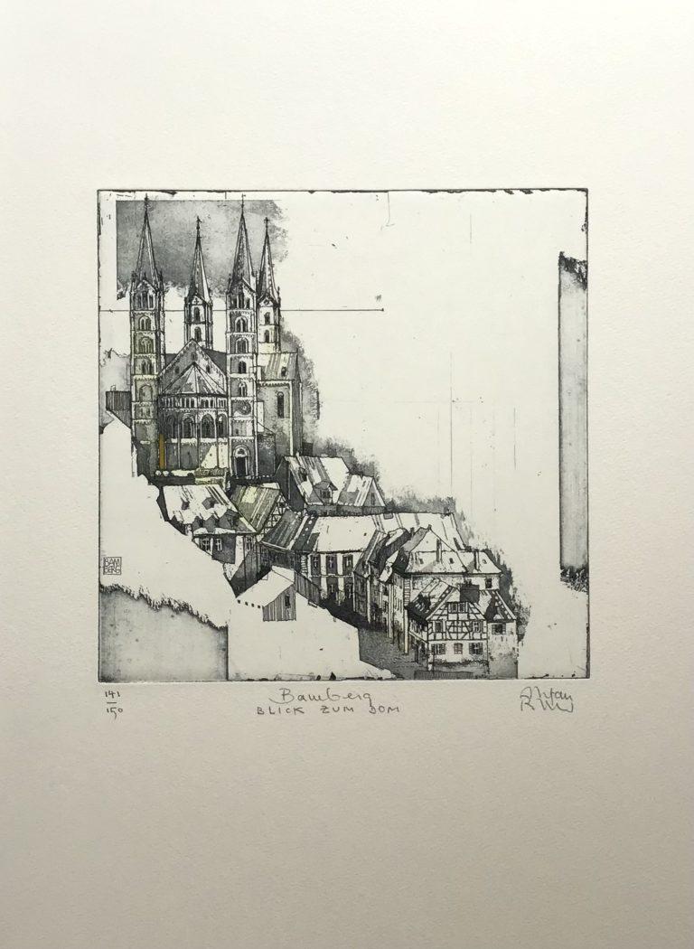 BAMBERG - Blick zum Dom